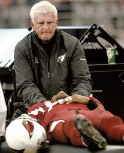 Official chiropractor of the Arizona Cardinals